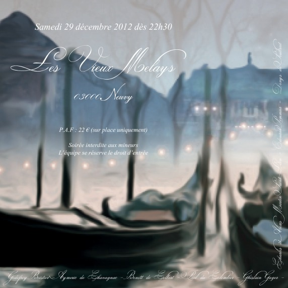 Carton de soirée TEB hiver 2012